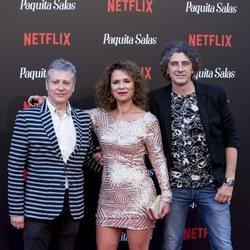 Vicky Larraz en la premiere de la segunda temporada de 'Paquita Salas'