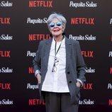 Concha Velasco en la premiere de la segunda temporada de 'Paquita Salas'