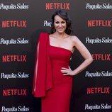 Ana Milán en la premiere de la segunda temporada de 'Paquita Salas'