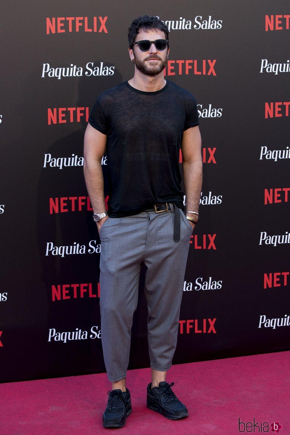 Alfonso Bassave en la premiere de la segunda temporada de 'Paquita Salas'