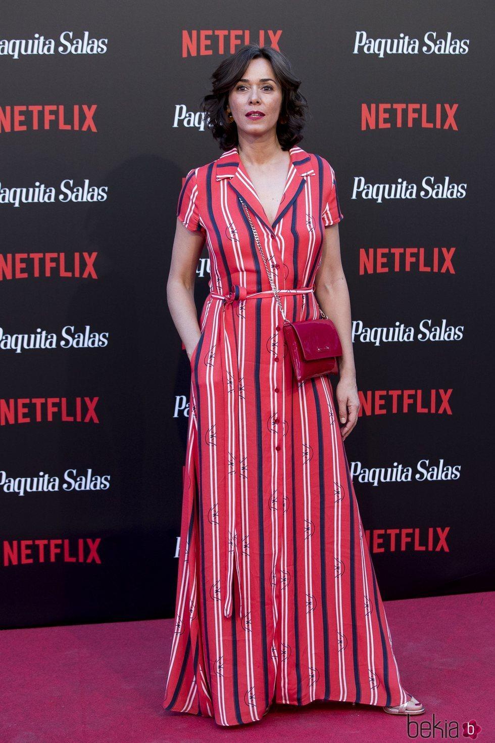 Fanny Gautier en la premiere de la segunda temporada de 'Paquita Salas'