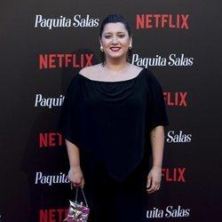 Mariona Terés en la premiere de la segunda temporada de 'Paquita Salas'