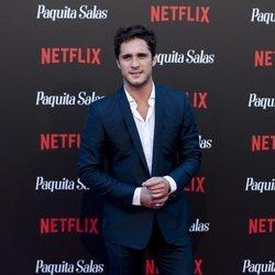 Diego Boneta en la premiere de la segunda temporada de 'Paquita Salas'