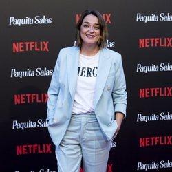 Toñi Moreno en la premiere de la segunda temporada de 'Paquita Salas'