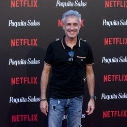 Sergio Dalma en la premiere de la segunda temporada de 'Paquita Salas'