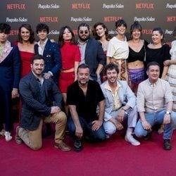 El equipo de 'Paquita Salas' en la premiere de la segunda temporada