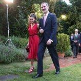 Los Reyes Felipe y Letizia, muy felices en la entrega de los Premios Fundación Princesa de Girona 2018