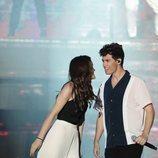 Amaia y Alfred en el concierto 'OT Bernabéu'