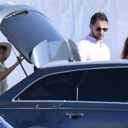 Meghan Markle y Serena Williams acudiendo a un partido de polo benéfico