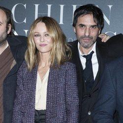 Vanessa Paradis y Samuel Benchetrit en el estreno de 'Chien'