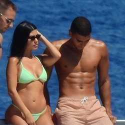 Kourtney Kardashian y Younes Bendjima de vacaciones en Portofino