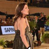 Carlota Casiraghi luce embarazo en el concurso hípico de Monte-Carlo