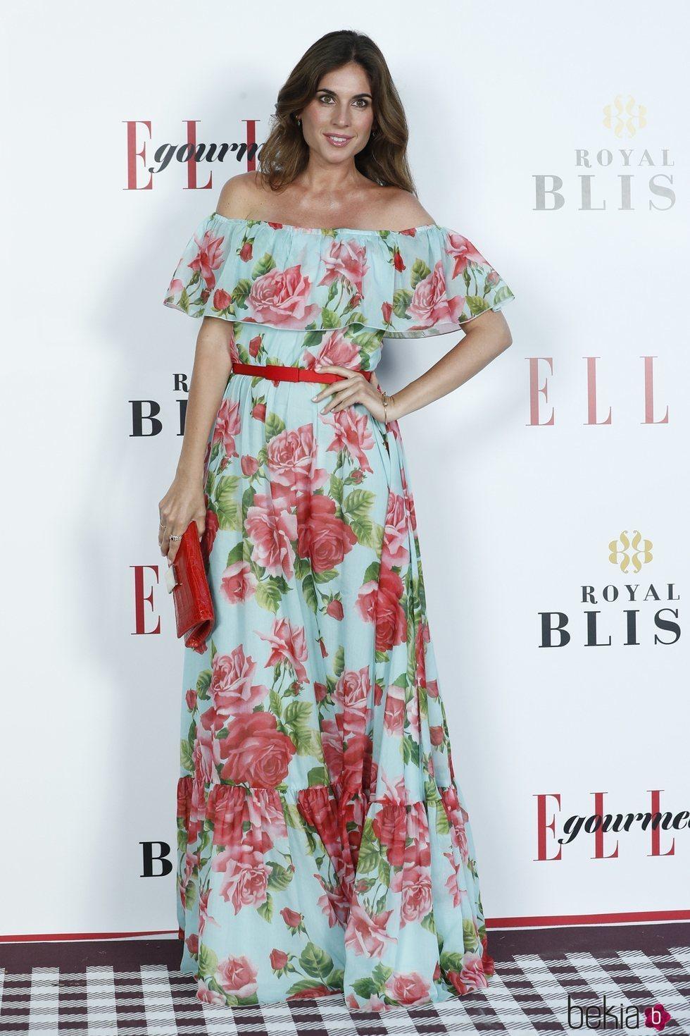 Lourdes Montes en los Elle Gourmet Awards 2018