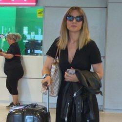 Edurne regresa a España tras ver a De Gea en el Mundial de Rusia