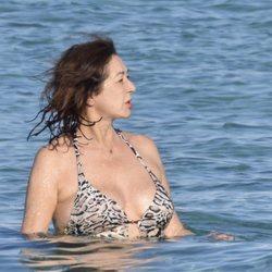Ana Rosa Quintana durante sus vacaciones en Formentera