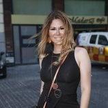 La cantante Tamara acude al concierto de Luis Miguel