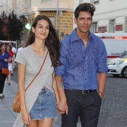 Diego Matamoros y Estela Grande en Madrid
