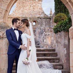 David Bisbal y Rosanna Zanetti muy románticos el día de su boda