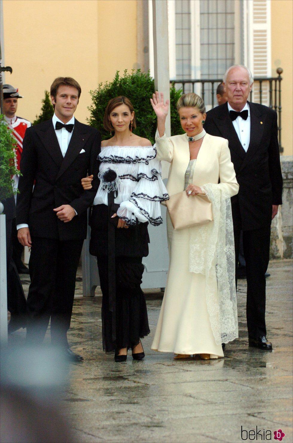 La Familia Real Italiana en la cena de gala previa a la boda del Príncipe Felipe y Letizia Ortiz