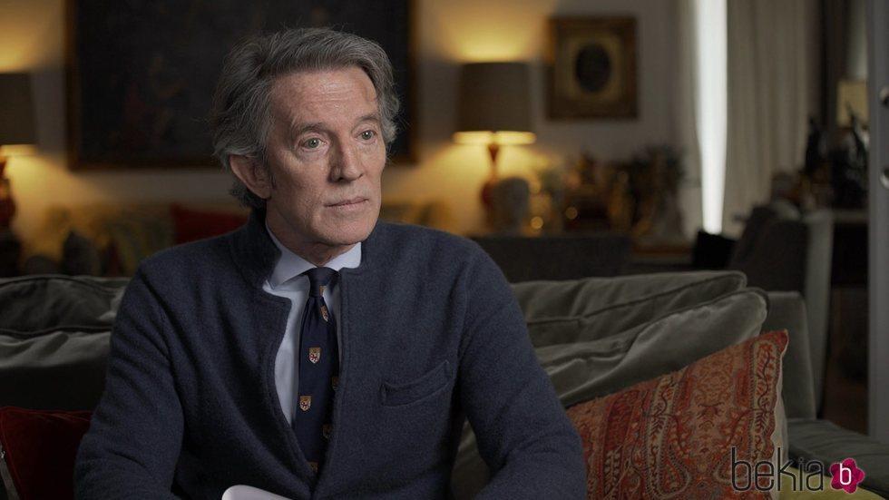 Alfonso Díez recuerda a la Duquesa de Alba en 'Lazos de sangre'