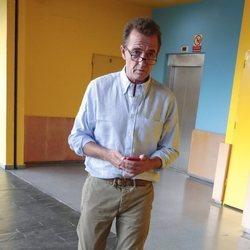 Alessandro Lequio en un evento de la empresa de su hijo