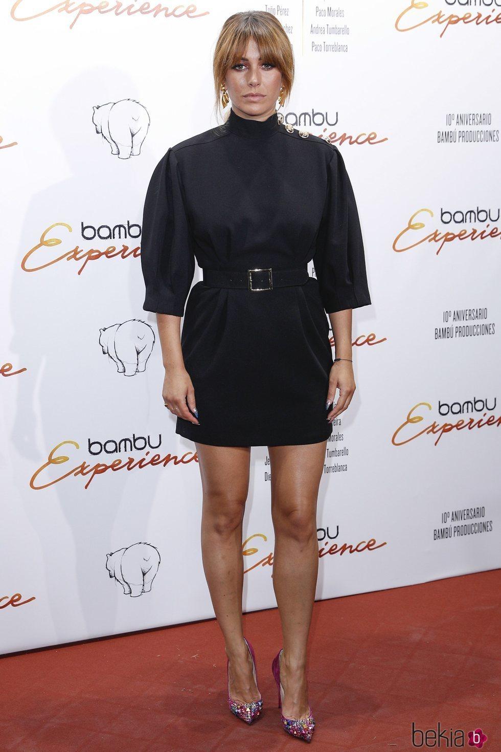 Blanca Suárez en la fiesta del décimo aniversario de la productora Bambú