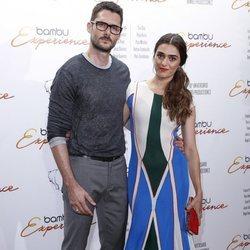 Sergio Mur y Olivia Molina en la fiesta del décimo aniversario de la productora Bambú