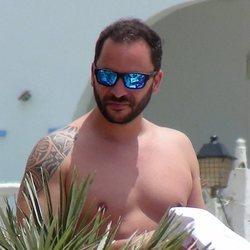 Antonio Tejado durante unas vacaciones en Cádiz