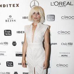 Verónica Echegui en el front row de Teresa Helbig en Madrid Fashion Week primavera/verano 2019