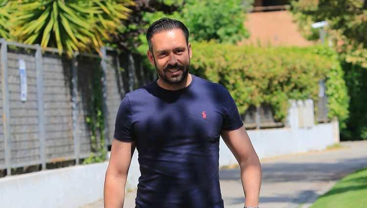 Kike Calleja visitando a Terelu Campos tras anunciar que vuelve a tener cáncer de mama