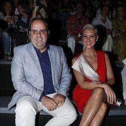 María Jesús Ruiz y Julio Ruz en el front row de Miguel Marinero en Madrid Fashion Week primavera/verano 2019