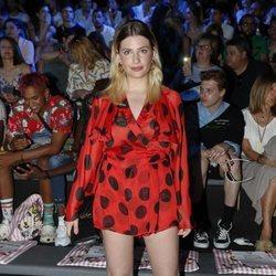 Miriam Giovanelli en el front row de Maria Escoté en Madrid Fashion Week primavera/verano 2019