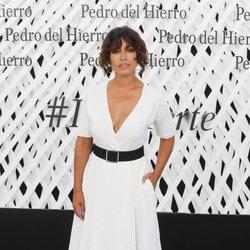 Inma Cuesta en el front row de Pedro del Hierro en Madrid Fashion Week primavera/verano 2019