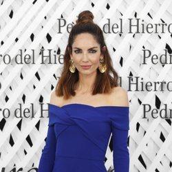 Eugenia Silva en el front row de Pedro del Hierro en Madrid Fashion Week primavera/verano 2019