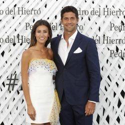 Ana Boyer y Fernando Verdasco en el front row de Pedro del Hierro en Madrid Fashion Week primavera/verano 2019