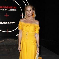 Fiona Ferrer en el front row de Andrés Sardá en Madrid Fashion Week primavera/verano 2019