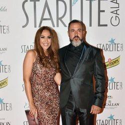 Mónica Naranjo y Óscar Tarruella en la Gala Starlite 2017