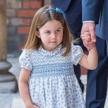 La Princesa Carlota en el bautizo del Príncipe Luis