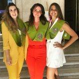 Marta Verona celebrando su graduación en Nutrición y Dietética