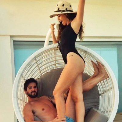 Sara Sálamo e Isco Alarcón de vacaciones