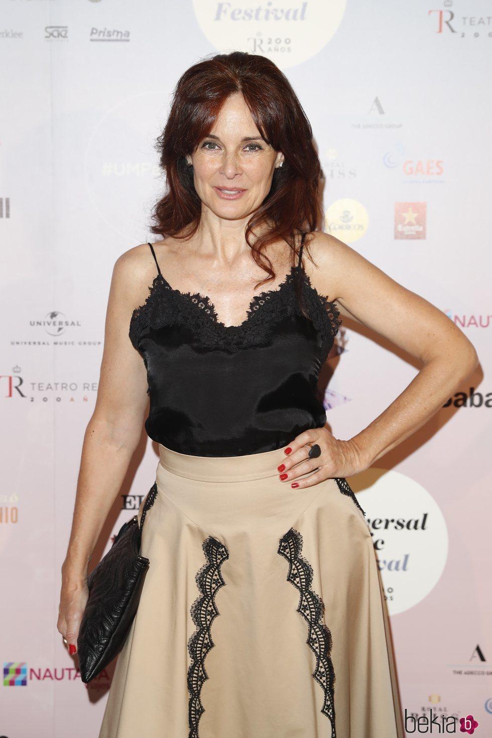 Silvia Marsó en el concierto de Niña Pastori durante el Universal Music Festival