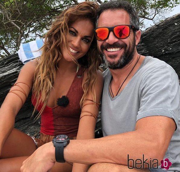 Lara Álvarez y Edu Blanco, su nuevo romance