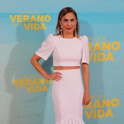 Toni Acosta en la premiere de 'El mejor verano de mi vida'