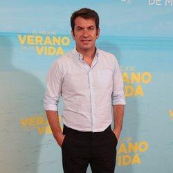 Arturo Valls en la premiere de 'El mejor verano de mi vida'