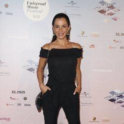 Cecilia Gómez en el concierto de Niña Pastori durante el Universal Music Festival 2018