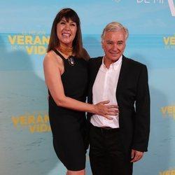 Mabel Lozano y Eduardo Campoy en la premiere de 'El mejor verano de mi vida'
