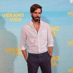Álex Barahona en la premiere de 'El mejor verano de mi vida'