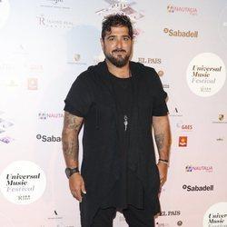 Antonio Orozco en el concierto de Niña Pastori durante el Universal Music Festival 2018