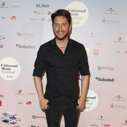 Manuel Carrasco en el concierto de Niña Pastori durante el Universal Music Festival 2018
