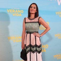 Rocío Muñoz en la premiere de 'El mejor verano de mi vida'